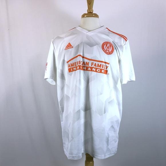 size 40 c8881 e1276 Adidas Atlanta United FC American Family Shirt NWT